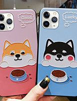 cheap -Cartoon Dog Shockproof TPU Phone Case For Apple iPhone 11 iPhone 11 Pro iPhone 11 Pro Max
