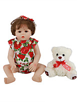 cheap -FeelWind 18 inch Reborn Doll Baby & Toddler Toy Reborn Toddler Doll Baby Girl Gift Cute Lovely Parent-Child Interaction Tipped and Sealed Nails Full Body Silicone LV023 with Clothes and Accessories