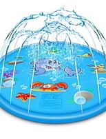 cheap -68 Inch Inflatable Splash Pad Animal Pattern Sprinkler Splash Play Mat for Kids Outdoor Party Swimming Pool Water Sprinkler Toys