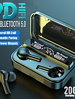 cheap -TWS Earbuds LED Power Digital Display Stereo Earset Mini Sport Wireless Bluetooth Headset Binaural Bass 2000mah