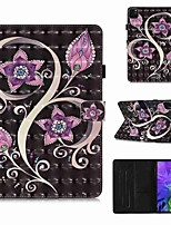 cheap -Case For Apple iPad Pro 11''(2020) / iPad 2019 10.2 / Ipad air3 10.5' 2019 Wallet / Card Holder / with Stand Full Body Cases Peacock Flower PU Leather / TPU for iPad Air / iPad 4/3/2 / iPad (2018)