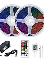 cheap -MASHANG 32.8ft 10M LED Strip Lights RGB Tiktok Lights Waterproof 600LEDs SMD 2835 with 44 Keys IR Remote Controller and 100-240V Adapter for Home Bedroom Kitchen TV Back Lights DIY Deco