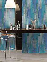 cheap -Simulation Cedar Wood Floor Diy Self-adhesive Pvc Film Wall Stickers