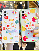cheap -Ring Holder with Strap TPU Fruit Protection Cover for Apple iPhone Case 11 Pro Max X XR XS Max 8 Plus 7 Plus SE(2020)