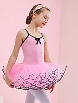 cheap -Swan Lake Ballet Dancer Dress Tutu Girls' Movie Cosplay Pink Dress Cotton