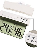 cheap -H208H Roof Design Window Temperature Humidity Meter with Suction Cup and Adhesive Tape for Easy Mounting Suitable for Indoor or Outdoor
