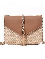 cheap -Women's Bags PU Leather Crossbody Bag for Daily Khaki / Green
