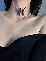 cheap -Women's Choker Necklace Necklace Butterfly Dainty Unique Design Romantic Gothic Fabric White Black 40 cm Necklace Jewelry For Masquerade Prom Street Birthday Party Festival