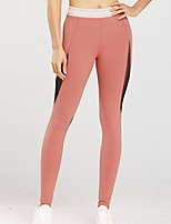 cheap -Women's Basic Legging - Print, Sporty Mid Waist Blushing Pink S M L