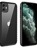 cheap -Case For Apple iPhone 11 / iPhone 11 Pro / iPhone 11 Pro Max Ultra-thin / Transparent Back Cover Transparent Tempered Glass
