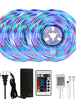 cheap -MASHANG Bright RGBW LED Strip Lights 15M(3*5M) RGBW Tiktok Lights 3510LEDs SMD 2835 with 24 Keys IR Remote Controller and 100-240V Adapter for Home Bedroom Kitchen TV Back Lights DIY Deco