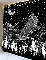 cheap -Classic Theme Wall Decor 100% Polyester Contemporary Wall Art Wall Tapestries Decoration