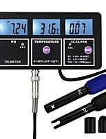 cheap -5 In 1 Water Quality Multi-parameter PH EC CF TDS(ppm) Temp Tester Meter Aquariums Hydroponics Pool Fish Tank Pond Drinking