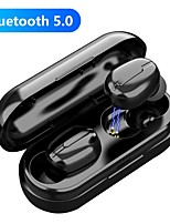 cheap -LITBest L13 TWS True Wireless Earbuds Wireless Bluetooth 5.0 Stereo Dual Drivers with Charging Box IPX5 Auto Pairing for Premium Audio