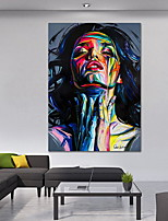cheap -Street Graffiti Wall Art Canvas Prints Abstract Pop Art Girls Watercolor Canvas Paintings On The Wall Pictures For Home Decor
