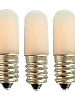 cheap -3pcs 1.5 W LED Corn Lights 80 lm E14 E12 T10 2 LED Beads Solar Power Warm White White