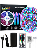 cheap -MASHANG Bright RGBW LED Strip Lights 32.8ft 10M Waterproof RGBW Tiktok Lights 2340LEDs SMD 2835 with 44 Keys IR Remote Controller and 100-240V Adapter for Home Bedroom Kitchen TV Back Lights DIY Deco