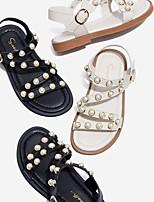 cheap -Girls' Comfort PVC Sandals Little Kids(4-7ys) White / Black Summer