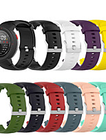 cheap -Silicone Watch Band for Amazfit Verge / Amazfit Verge Lite Sports Silicone Watch Band Smart watch Fashion Wearable Strap for Amazfit Verge / Amazfit Verge Lite