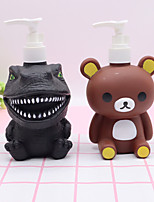 cheap -300ml Dinosaur Panda Cartoon Lotion Bottle  Shampoo Empty Lotion Container  Pressed Pump Bottle For Soap Shower Gel