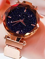 cheap -Women's Quartz Watches Casual Fashion Black Blue Purple Alloy Chinese Quartz Rose Gold Black Blue Casual Watch Lovely 1 pc Analog One Year Battery Life