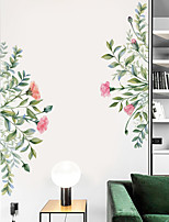 cheap -Floral / Botanical Wall Stickers Plane Wall Stickers Decorative Wall Stickers, PVC Home Decoration Wall Decal Wall Decoration 1pc