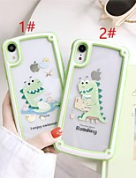cheap -Summer Cartoon Protection Cover for Apple iPhone Case 11 Pro Max X XR XS Max 8 Plus 7 Plus SE(2020)