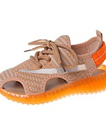 cheap -Boys' / Girls' Roman Shoes Knit Sandals Little Kids(4-7ys) / Big Kids(7years +) Pink / Orange / Green Summer