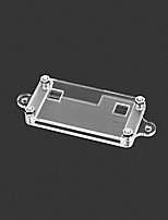 cheap -Acrylic Enclosure For Microbit Colorless Transparent Case Environmental Protection