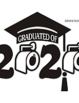 cheap -2020 Graduation Decorative Wall Stickers - Plane Wall Stickers