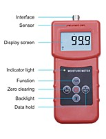 cheap -High Frequency MS350a Moisture Meter for Soil Silver SandChemical Combination PowderCoal Powder Chemical Powder