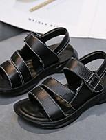 cheap -Boys' Sandals Comfort PVC Little Kids(4-7ys) Black / Brown Summer