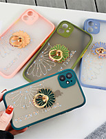 cheap -Glitter Flower Phone Case for Iphone 11 11Pro X XR XSMax  11 Pro Max 7Plus  8 Plus SE 2020 8 7 Cover with Holder Ring