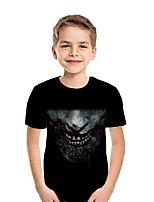 cheap -Kids Boys' Street chic Geometric Short Sleeve Tee White