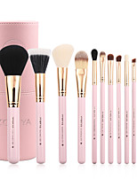 cheap -Professional Makeup Brushes 12pcs Soft Artificial Fibre Brush Wooden / Bamboo for Foundation Brush Makeup Brush Set