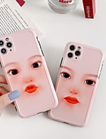 cheap -For iPhone 11 Case Funny Finger For iPhone 11 Pro se 2020 7 8 Plus X XR XS Max Silicone Phone Case Soft TPU Back Cover