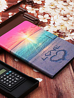 cheap -Case For Samsung Galaxy Tab A 10.1(2019)T510 Samsung Tab A T290 Tab S6 T860 with Stand Flip Pattern Full Body Cases Scenery PU Leather for T580 T720 T580