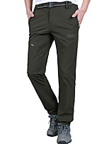 cheap -Men's Hiking Pants Summer Outdoor Standard Fit Breathable Quick Dry Sweat-wicking Spandex Pants / Trousers Bottoms Hunting Fishing Climbing Dark Grey Army Green Light Grey M L XL XXL XXXL