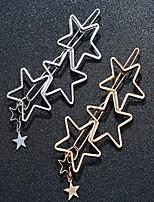 cheap -Women's For Festival Star Alloy Silver Golden 1pc