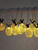cheap -3M 20LEDs  Pineapple LED String Lights Creative USB Plug-in Fairy Lights Christmas Wedding Garden Party Family Party Room Valentine's Day Decoration Pendant