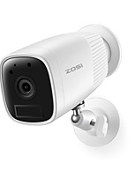 cheap -ZOSI 1080P Security IP Wifi Video Led Cam Intercom CCTV Camera Rechargeable Battery with Detector Sensor USB Plug in Door