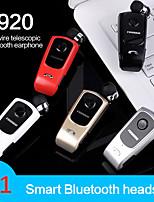 Недорогие -LITBest F920 Наушники-вкладыши Беспроводное Bluetooth 4.1 Стерео С микрофоном С регулятором громкости Автосоединение Путешествия и развлечения
