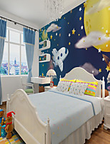 cheap -Custom Self Adhesive 3d Wallpaper Mural  Airplane Children Cartoon Style Suitable For Bedroom Children's Room Landscape Home Decoration  Material Adhesive required
