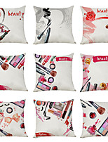 cheap -9 pcs Linen Pillow Cover, Beauty Fashion Modern Square Traditional Classic