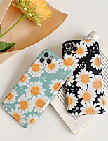 cheap -Flower Sunflower Rose Soft TPU Coque Phone Case For iPhone 11 Pro XS Max XR X 7 8 Plus XR se 2020 Case Silicon Capa Cover
