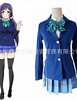 cheap -Inspired by Love Live Anime Cosplay Costumes Japanese Cosplay Suits Coat Skirt Bow Tie For Women's