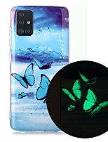 cheap -Case For Samsung Galaxy A71 A51 Phone Case TPU Material Painted Pattern IMD Luminous HD Mobile Phone Case for Galaxy A10 A20 A30 A40 A50 A70 A70E A20S A10S