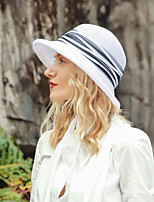 cheap -Headwear Elegant Polyester Hats with Stripe / Color Block 1pc Casual / Daily Wear Headpiece