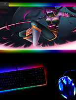 cheap -Creative Rgb Cool Youth Led Luminous Magic Mouse Pad Video Game Customized Keyboard Mouse Pad 400 * 450 * 4mm