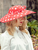 cheap -Headwear Elegant Polyester Hats with Bowknot 1pc Wedding / Party / Evening Headpiece